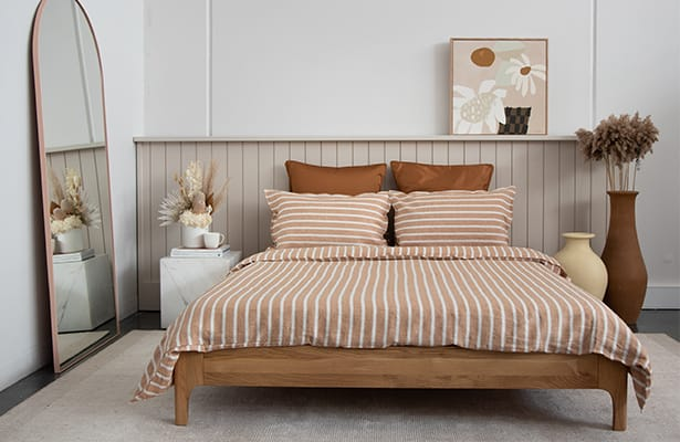 Ambience Queen Bed Base - Oak - The Ultimate Base
