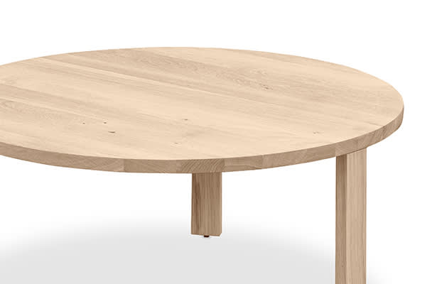Layer Nesting Coffee Table Large - Whitewash Oak - The Perfect Pair