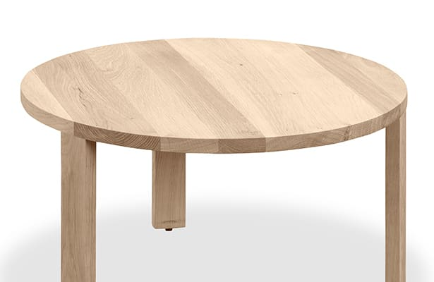 Layer Nesting Coffee Table Small - Whitewash Oak - The Perfect Pair