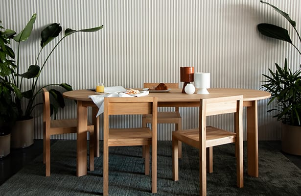 Sound Dining Chair - Oak - The Small Details