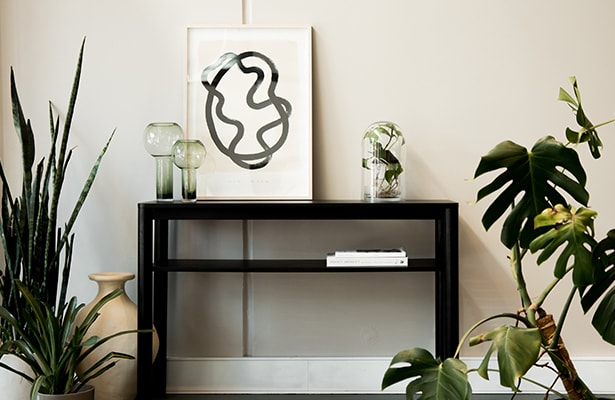 Pure Console Table - Black - All the Answers