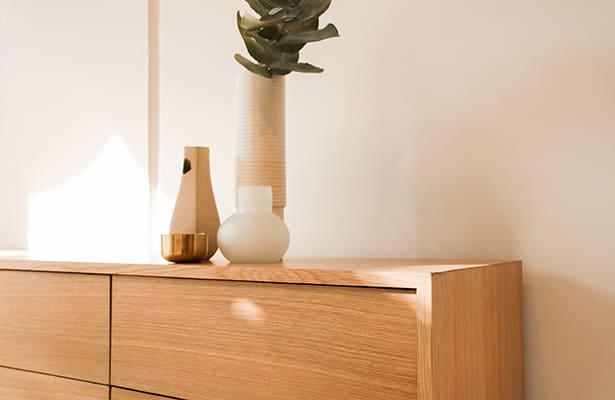 Haven Entertainment Unit 210cm - Oak - Style and Function
