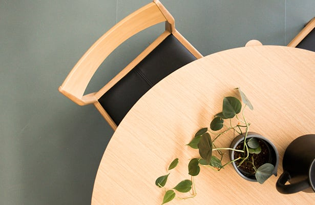 Eclipse Dining Chair - Oak - Dine in Comfort