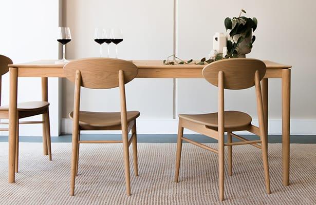 Icon Dining Chair - Oak - A Unique Profile