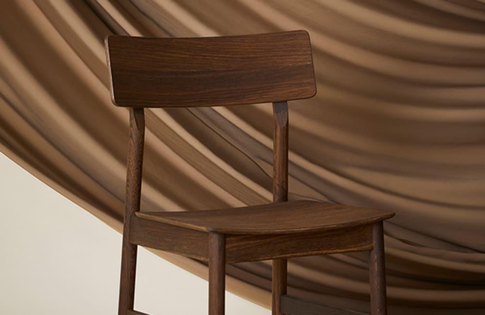 Pause Dining Chair 2.0 - Smoked Oak - <p>New Scandi</p>