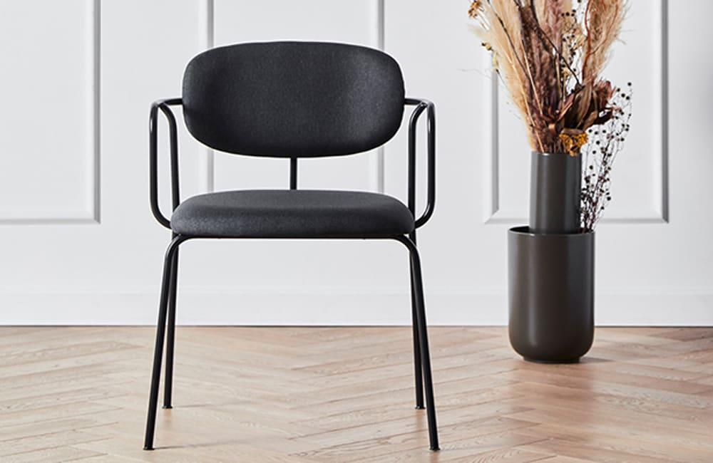 Frame Dining Chair - Dark Grey - <p>The Essentials</p>