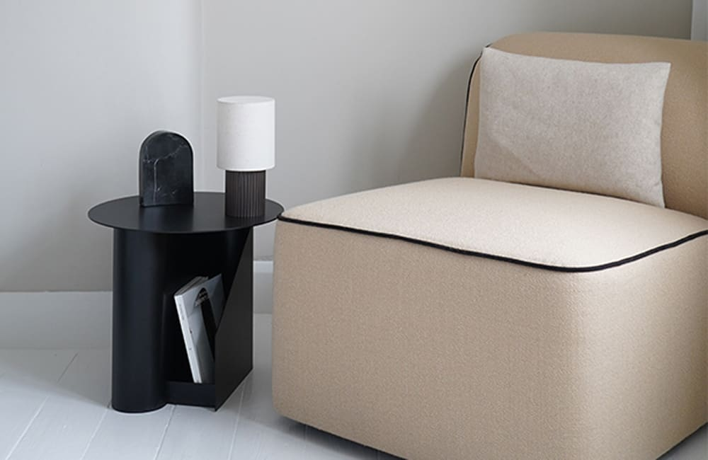 Sentrum Side Table - Black - <p>Dual Purpose</p>