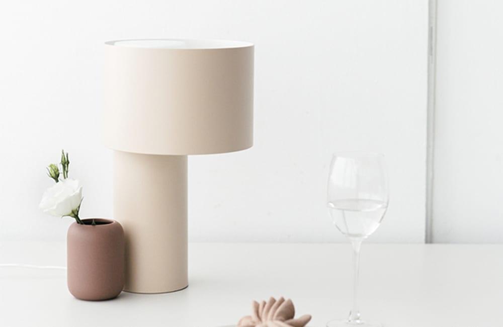 Tangent Table Lamp - Desert Sand - <p>Light Play</p>