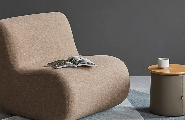 Bread Lounge Chair - Brown Gabriel Medley 61003 - Exploring New Persprctives