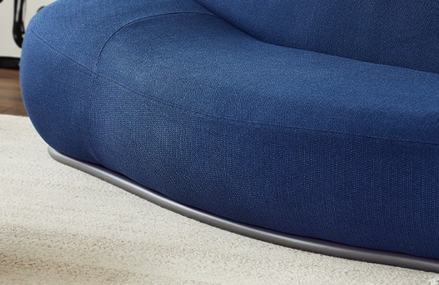Cloud 2 Seater Sofa - Navy - Exploring New Perspectives