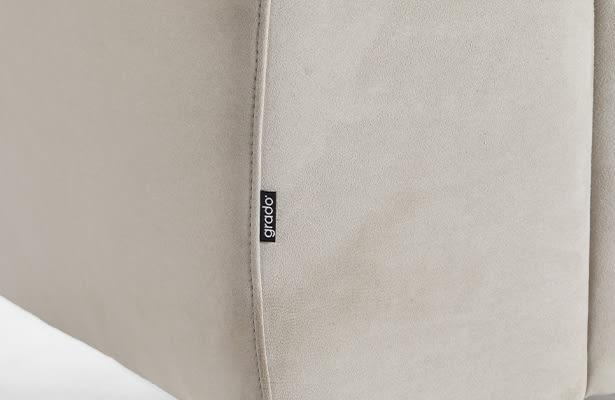 Island 2 Seater Sofa - Light Grey - Exploring New Perspectives