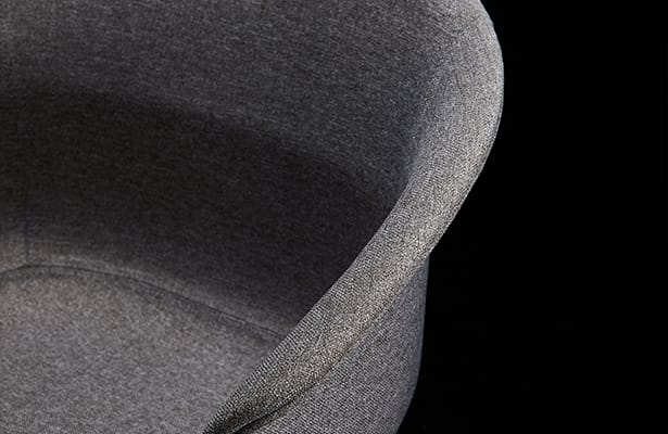 Queen Dining Chair - Grey / Black - Exploring New Perspectives