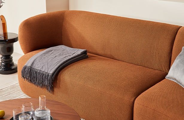Swell Chaise Sofa - Terracotta - Exploring New Perspectives