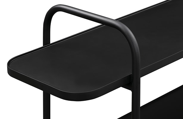 Camber Shelving Unit Small - Black - The Small Details