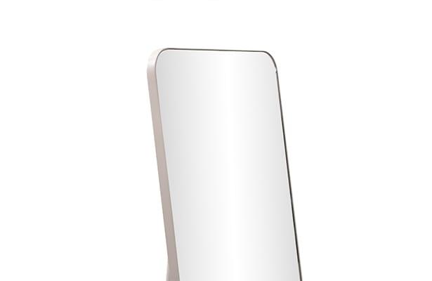 Pitch Leaner Mirror - Warm Beige - Sleek Design