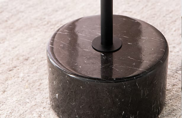 Calibre Side Table - Black - A Showstopping Base