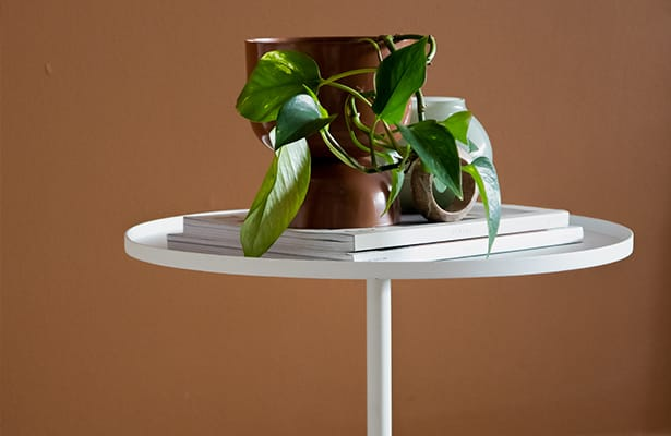Calibre Side Table - White - A Showstopping Base