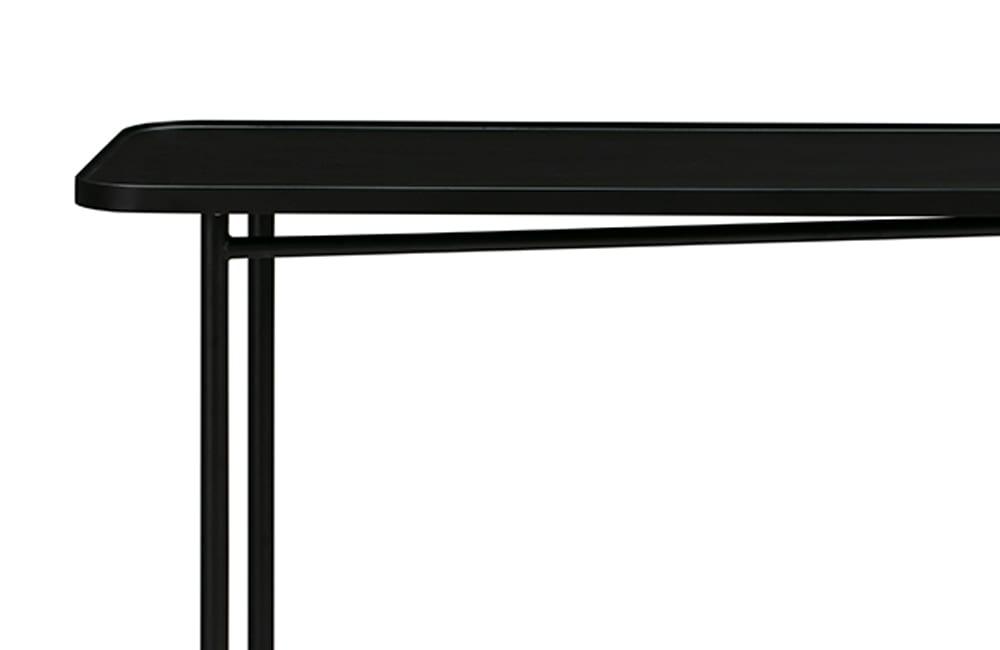 Passage Console Table - Black - Refined Design