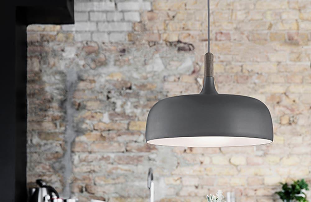 Acorn Pendant Light - Grey - <p>Carefully Crafted</p>