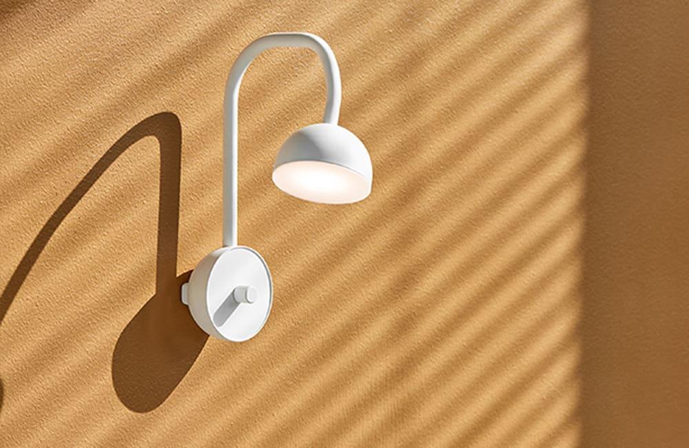 Blush Wall Light - White - <p>Flex It</p>