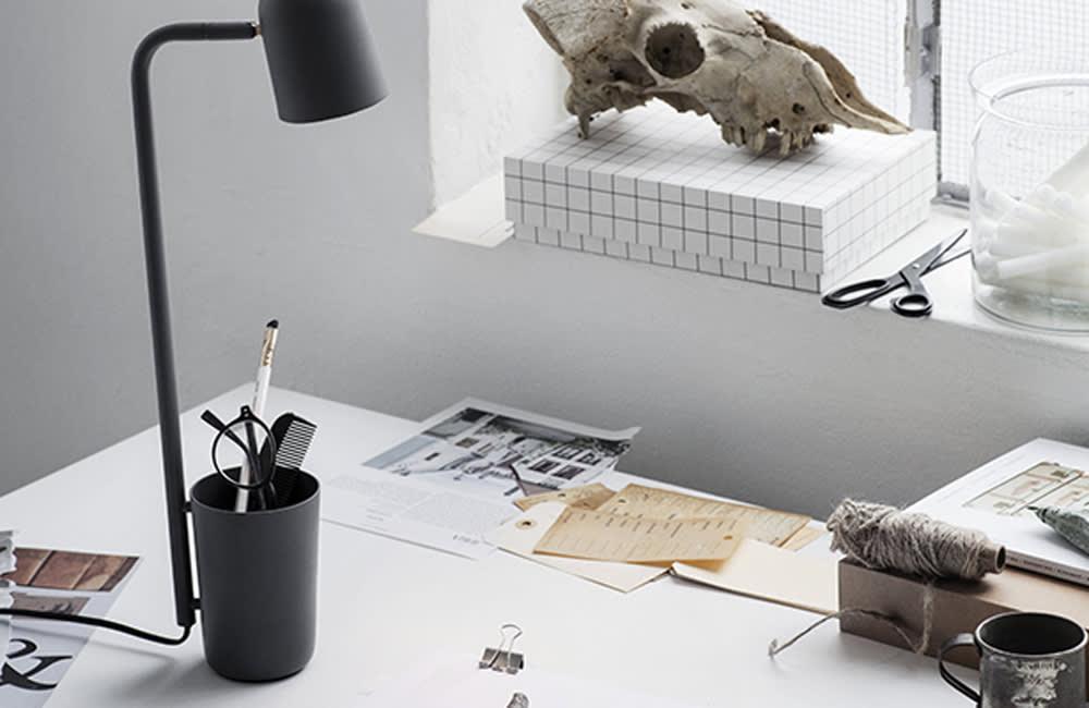 Buddy Table Lamp - Dark Grey - <p>Shine A Light</p>