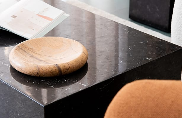 Stage Marble Coffee Table - Black Marble - Sure to Impress