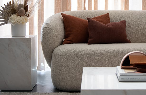 Stage Marble Coffee Table - White Marble - Sure to Impress