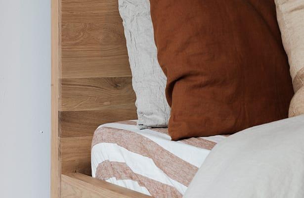 Harmony Double Bed II - Oak - One of a Kind
