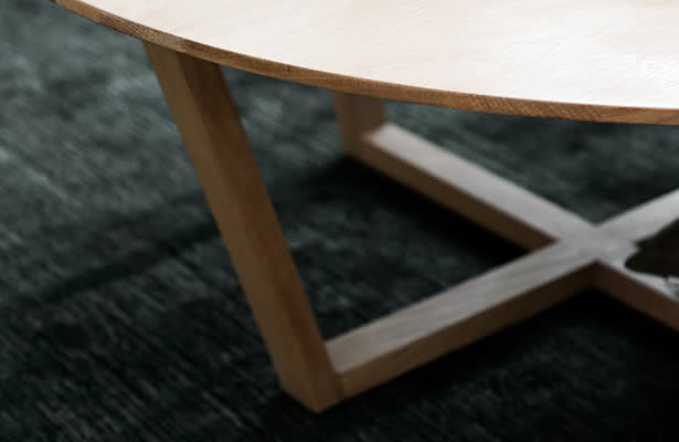 Form Coffee Table - Oak - One of a Kind