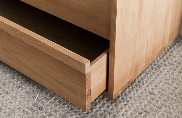 Embody Entertainment Unit - Oak - One of a Kind