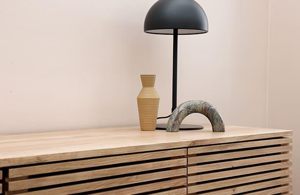 Linear Entertainment Unit 180cm - Oak - One of a Kind