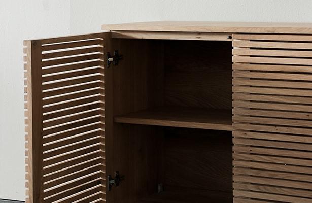 Linear Sideboard - Oak - One of a Kind