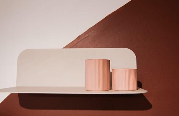 Flip Wall Shelf 40cm - Warm Beige - Your colour, your style