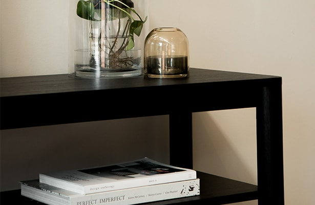 Pure Console Table - Black - The Best of Both Worlds