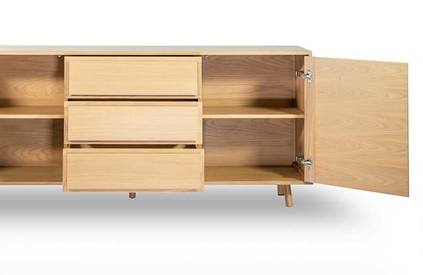 Waver Sideboard 180cm - Oak - The Best of Both Worlds