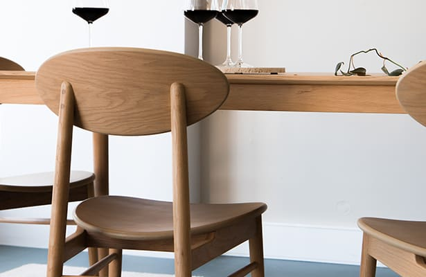 Icon Dining Chair - Oak - The Best of Both Worlds