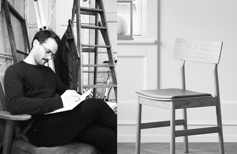 Pause Dining Chair 2.0 - Smoked Oak - <p>The Designer</p>