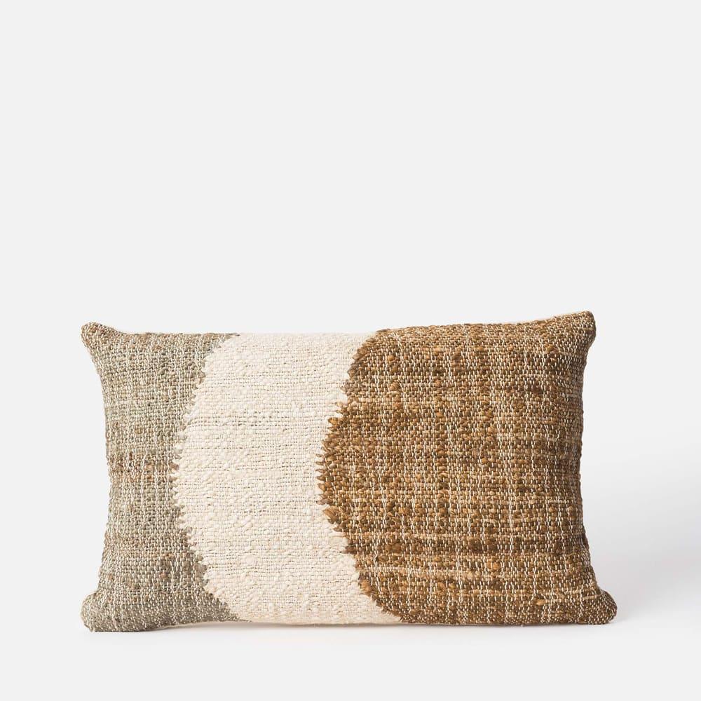 Shoal Handwoven Cushion - Bronze/Multi