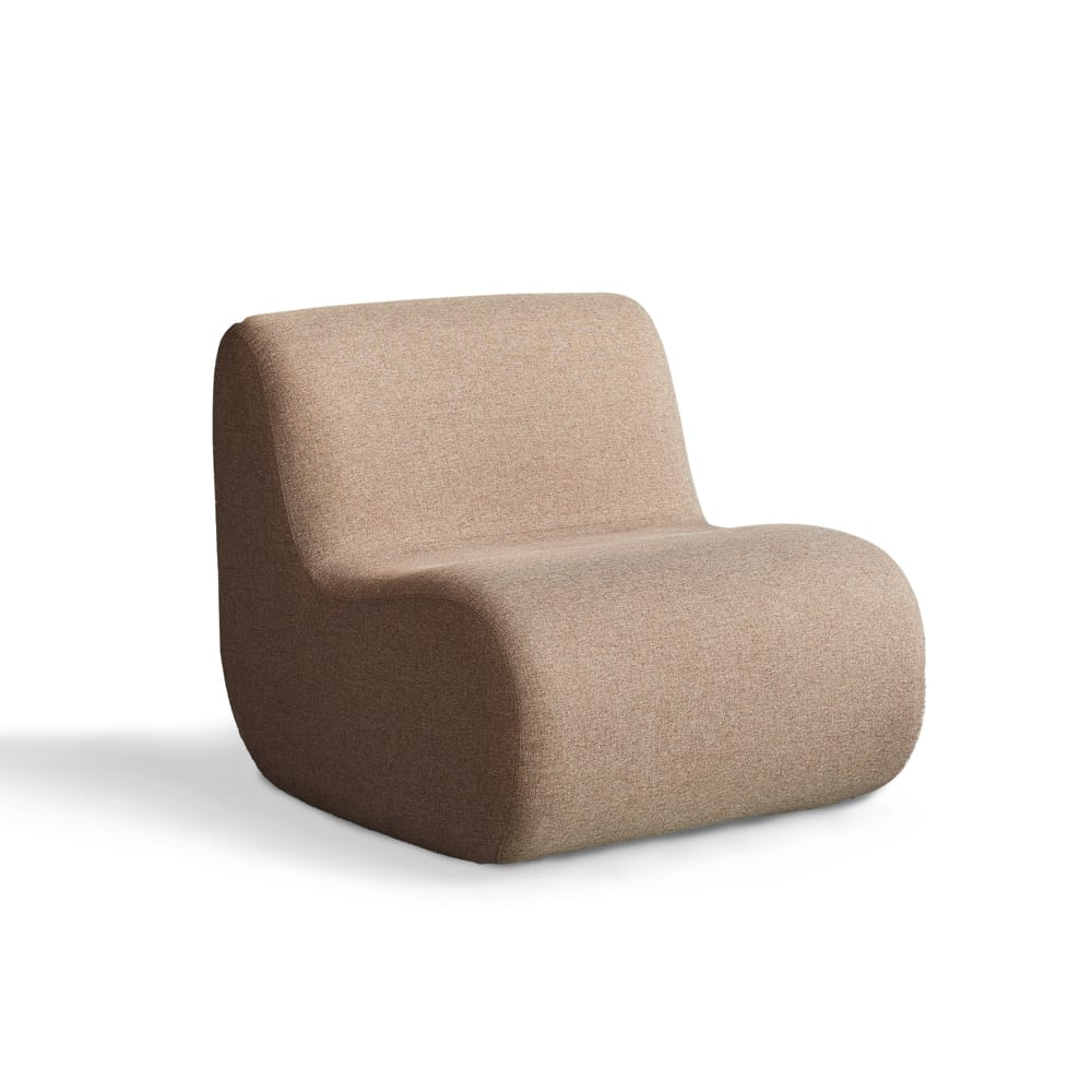 Bread Lounge Chair - Brown Gabriel Medley 61003