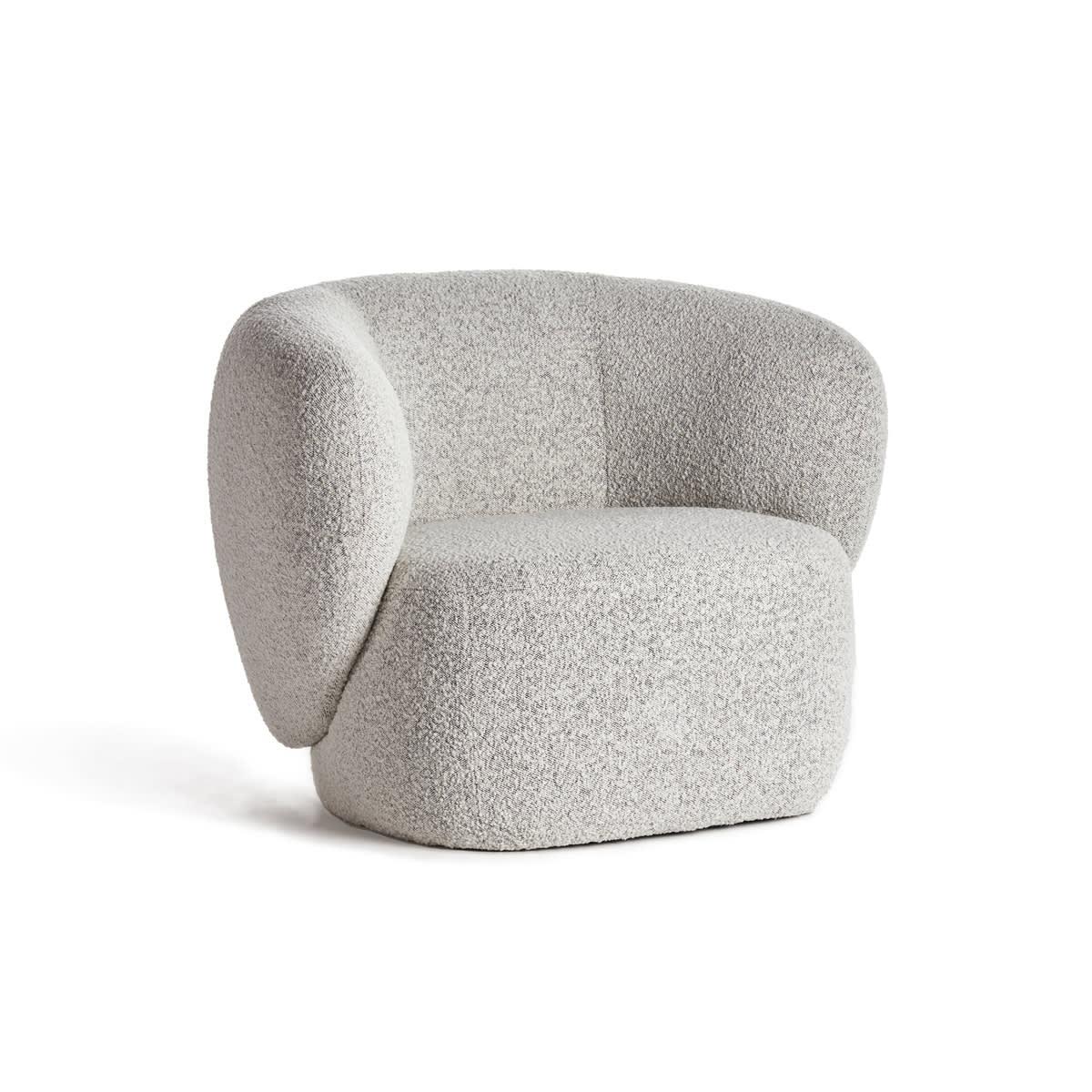 Swell Armchair - Maya Grey Boucle