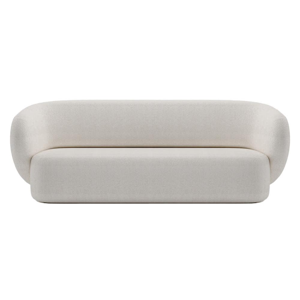 Swell 3 Seater Sofa - Maya Cream Boucle