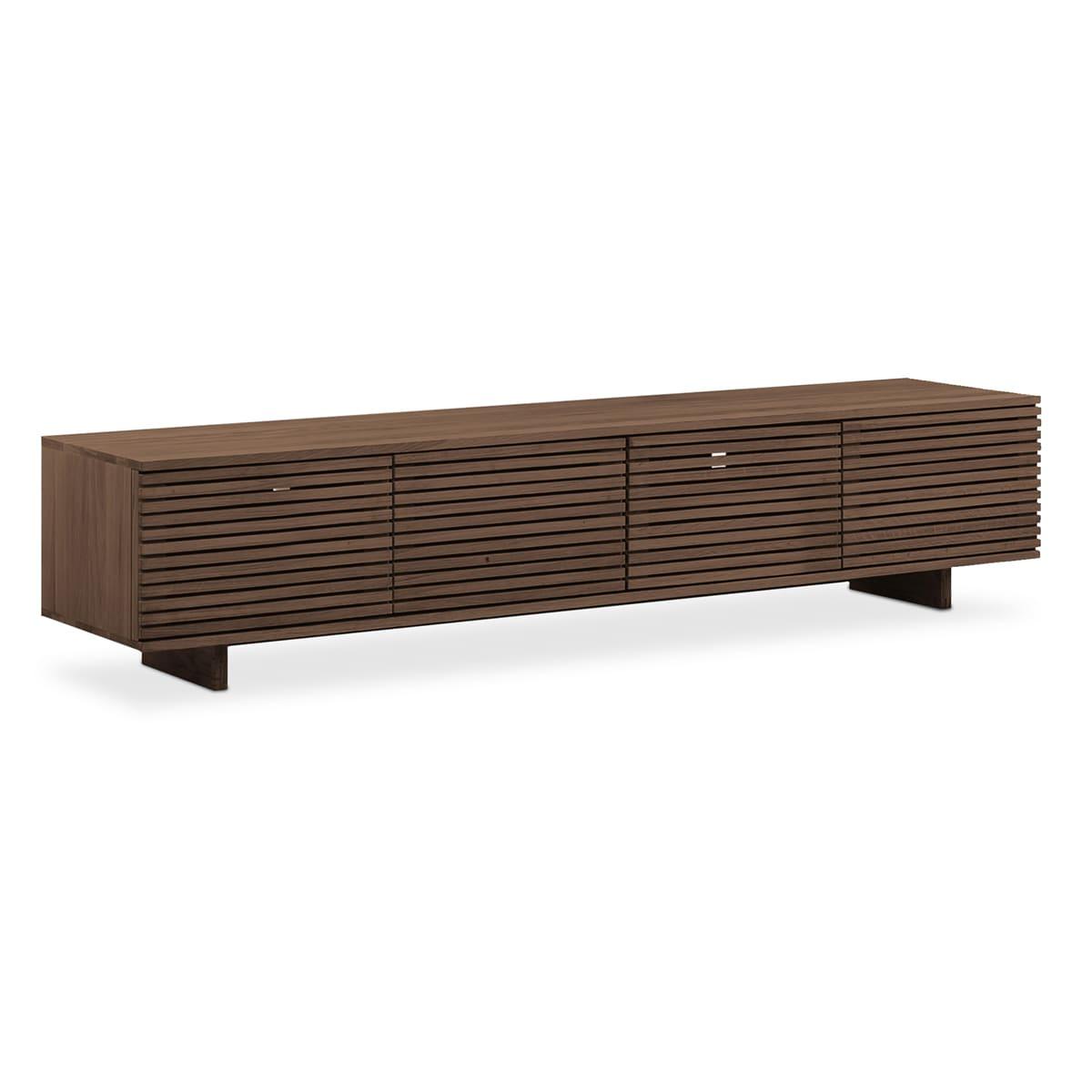 Linear Entertainment Unit 210cm - Walnut