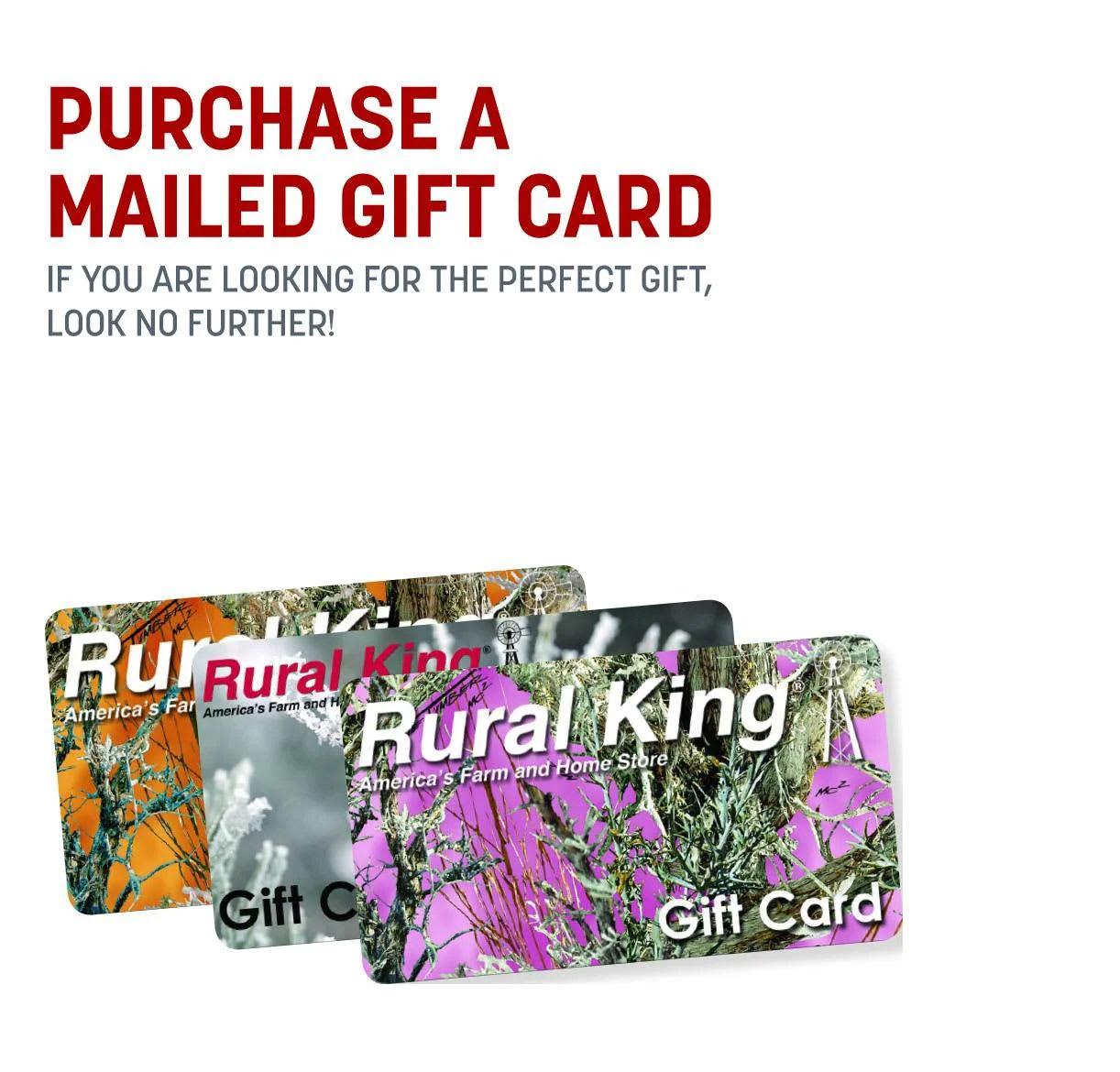 Rural King Gift Cards