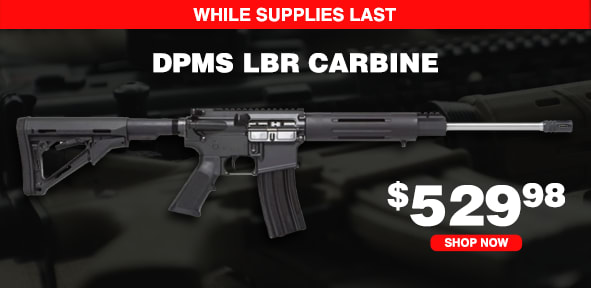 DPMS LBR Carbine .223/5.56 Semi-Automatic 30rd 16in Rifle 60527