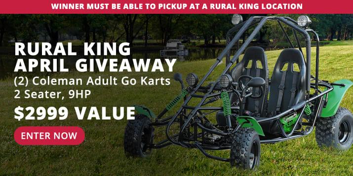 Rural King April Giveaway