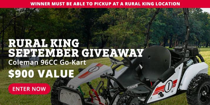 Rural King September Giveaway