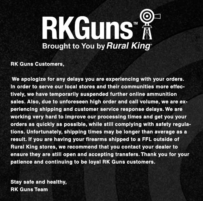 A Message from Rural King