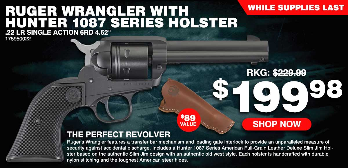Ruger Wrangler with Holster