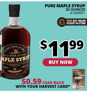 Pure Maple Syrup 32 oz.