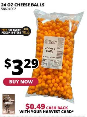 Cheese Balls 24 oz.